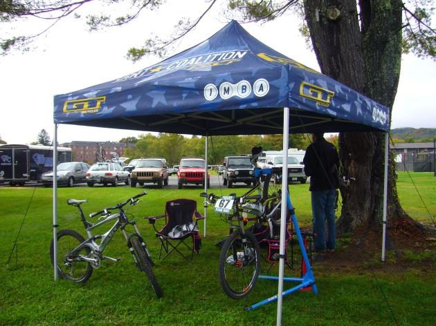 Tent Setup Day 1