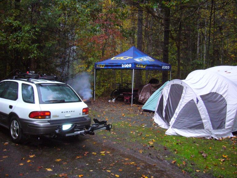 Davidson River Campsite