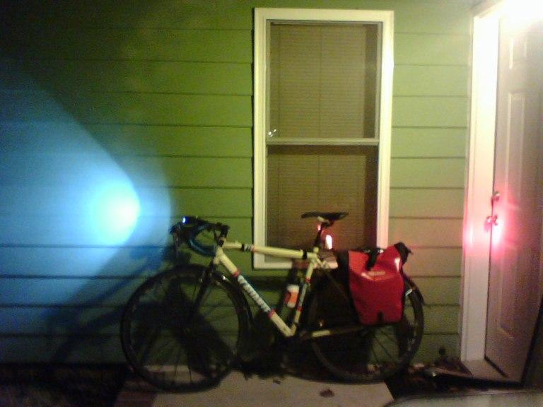 Chris' commuter bike