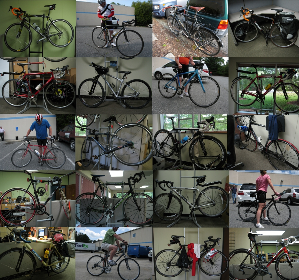 Bike To Work Collage