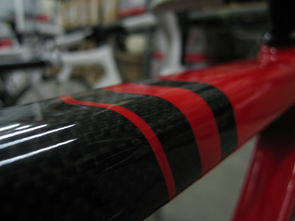 Scattante CFR Race top tube