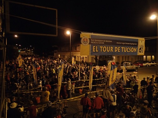 El Tour Start 5am