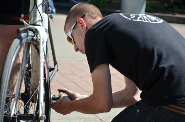 Getting your bike tuned up before the ride can help you feel more prepared the day of your event