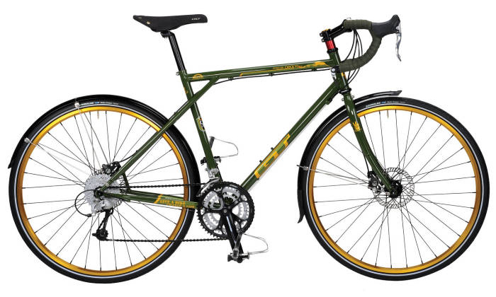 GT Wheels 4 Life Peace Tour Commuter Bike
