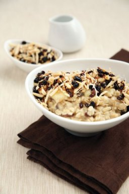 Oatmeal is a great way to start the morning. Filling, healthy, and full of energy. Find this recipe in the Feed Zone Cookbook from Skratch Labs.