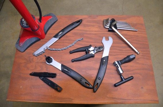 A few of the essential tools for any home mechanic