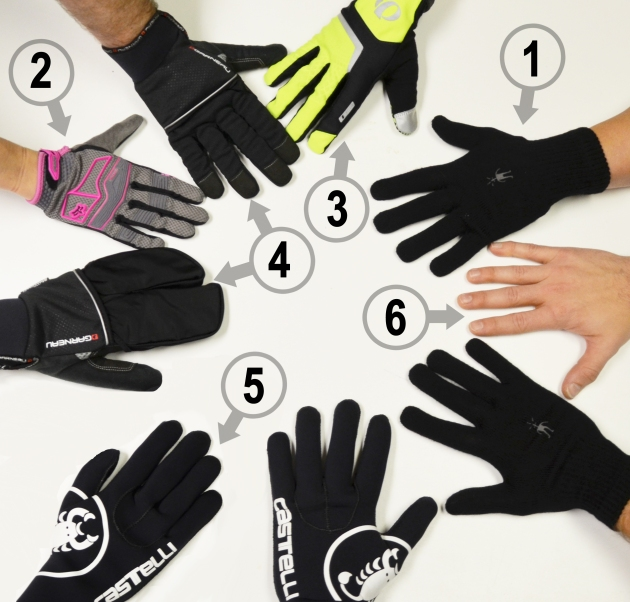 6 Cycling Gloves for Cold Weather Rides