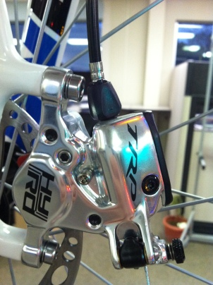 TRP Hy/Rd mechanically actuated hydraulic brake calipers drastically improve braking performance