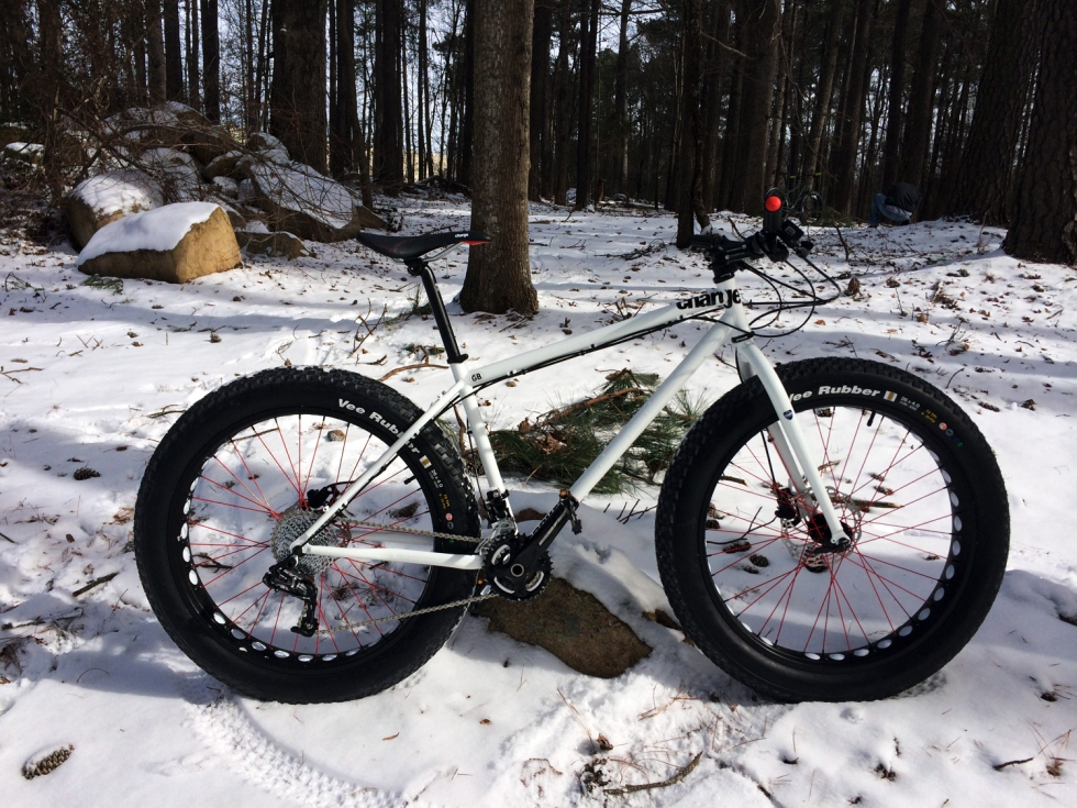 Snow biking puts a new spin on old trails, and is a great way to spice up your riding routine.