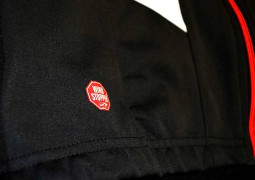 Gore Wind Stopper soft shell cuts the wind and keeps you warm