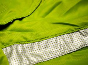 Reflective accents and high-viz green ensure you'll be seen on the road in any conditions