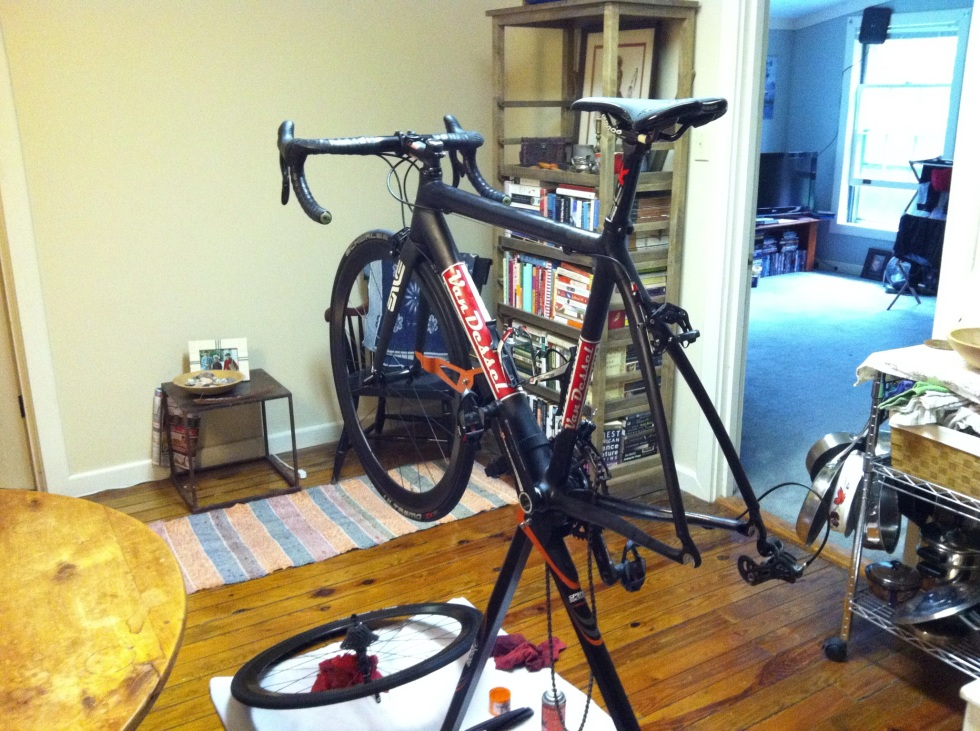 Cleaning your bike is a great way to prolong the life of components and ensure it's ready to ride next time