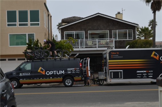 Diamondback visited the Optum men's and women's team training camps in California