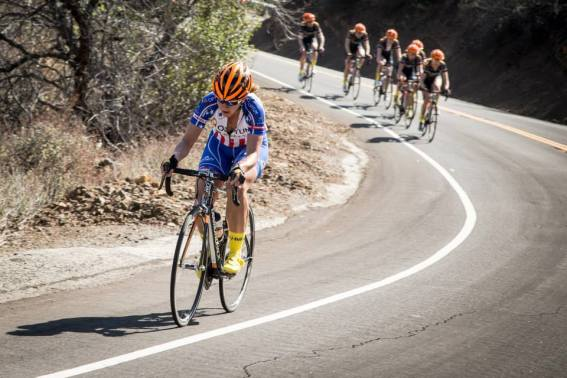 U.S. Women's National Champion Jade Wilcoxson was riding well at training camp