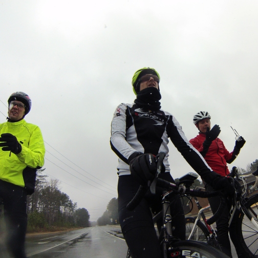 With the right clothing, riding in snowy, cold weather can be more fun than it looks