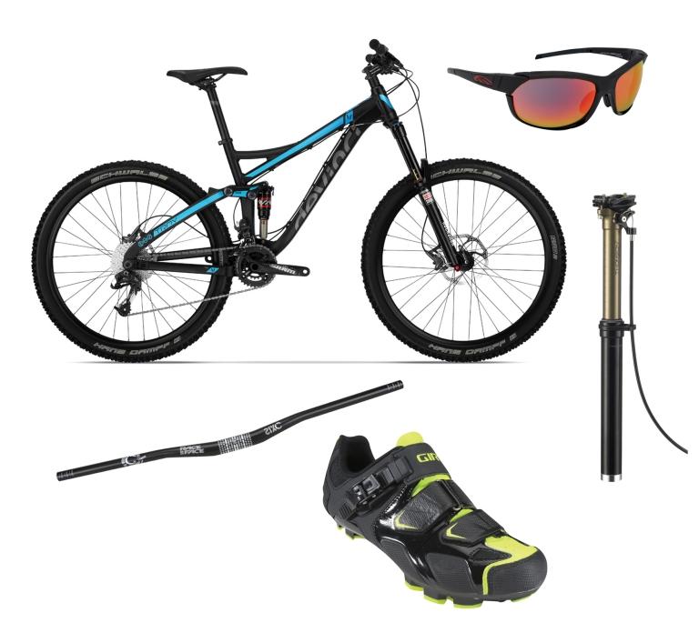 Mark's $4000 mountain bike selections