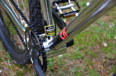 Tried-and-true alloy crank construction