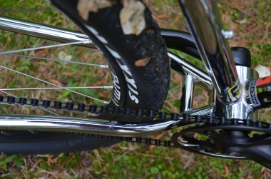 Chain stay clearance