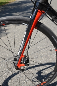 Disc brakes provide plenty of all weather stopping power