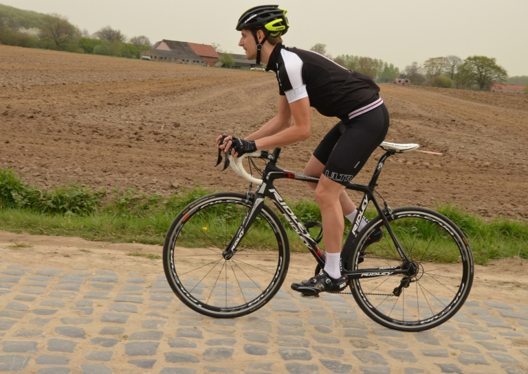 Lycra is something most riders find a lot of benefit in...but not everyone