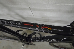 Special edition graphics on the top tube