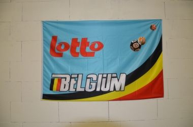 Lotto also sponsors the Belgian national team