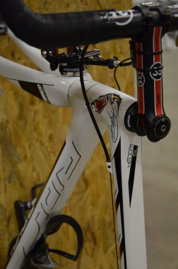 Ridley Helium SL that Andre Greipel won the German national championship on