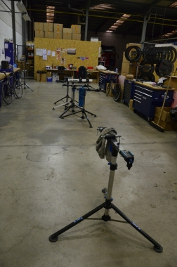 Team mechanic workstands