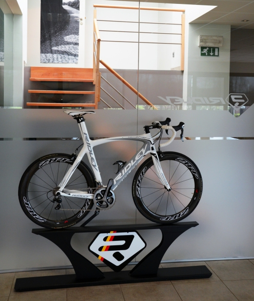 Ridley's facilities remain in Hasselt, where most of the bikes are still finished and assembled