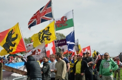 People come from all over to watch the Tour of Flanders