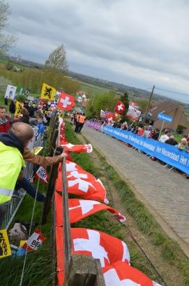 Alpe d'Huez has dutch corner...apparently the Paterberg has Swiss 22% Gradient Part