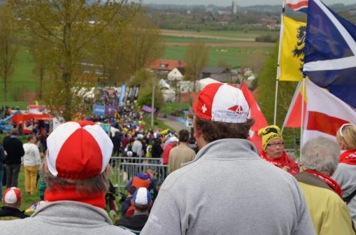 More Swiss fans