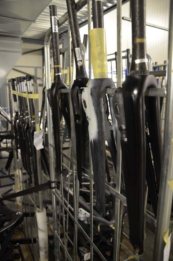 Forks waiting for prep