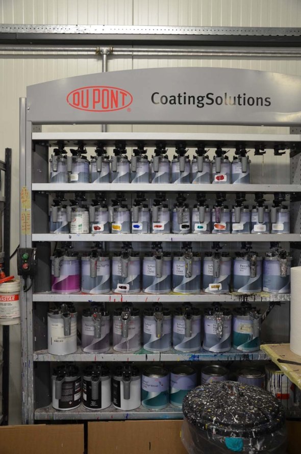 Ridley partners with DuPont to get the right clear coat