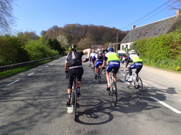 Before your ride, it's essential you get some practice riding with a group, so you can be safe and feel comfortable