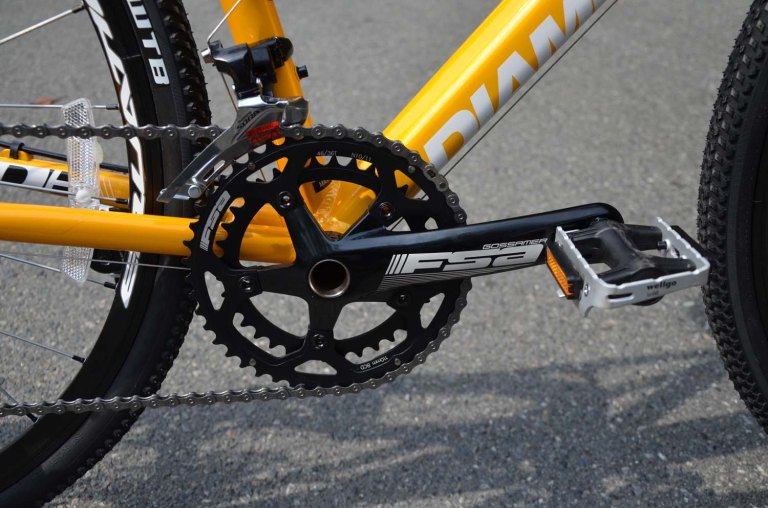 One or two chainrings? It's up to you.
