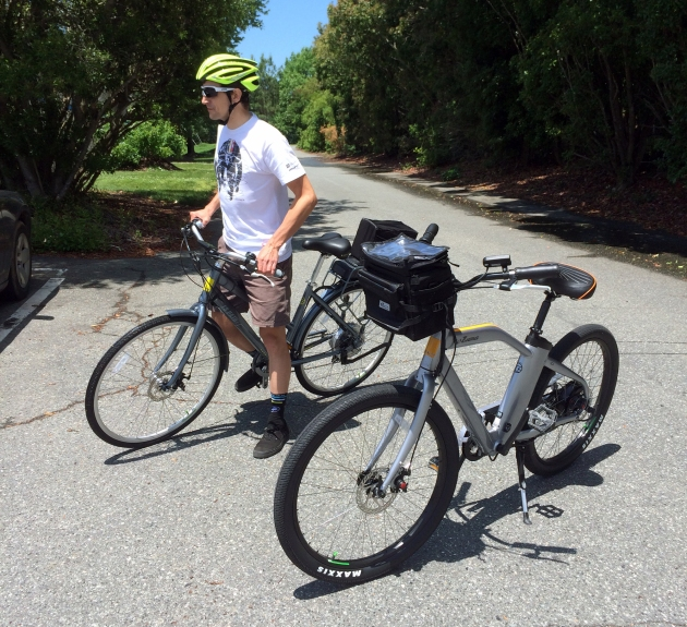 Who wants to take an e-bike ramble to get BBQ? We saddled up on the last day of our test to go get some lunch.