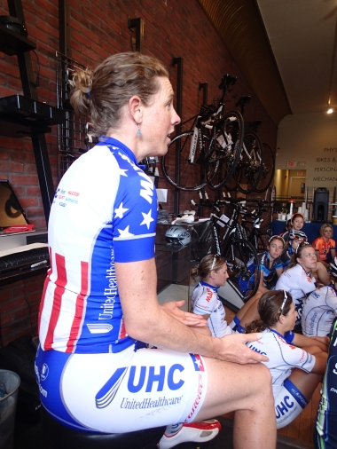 Alison Powers talks about the state of women's cycling