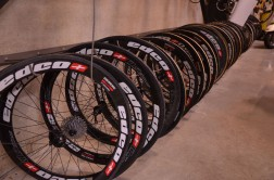 The team rolls on Swiss-made Edco wheels