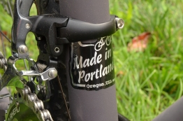 Each frame is made in Portland, OR
