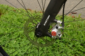 Avid disc brakes for dependable stopping power