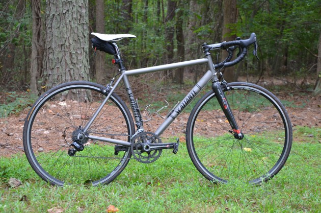 Brian's titanium Scattante frame should be the right tool for the job
