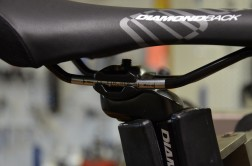 Saddle rails may need grease to stop them making noise