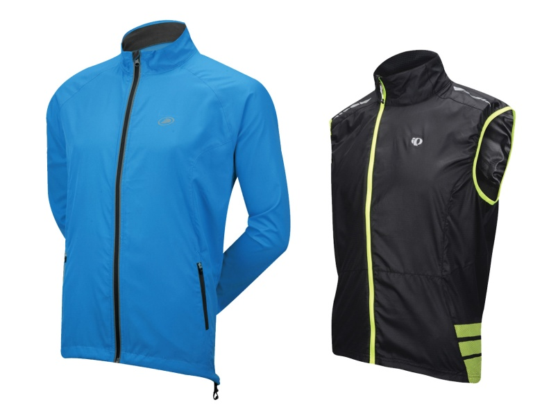 A packable wind jacket or vest can help you be prepared for changeable weather