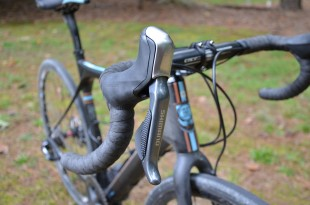 These Shimano Hydraulic levers look almost identical to the mechanical ones on the final version