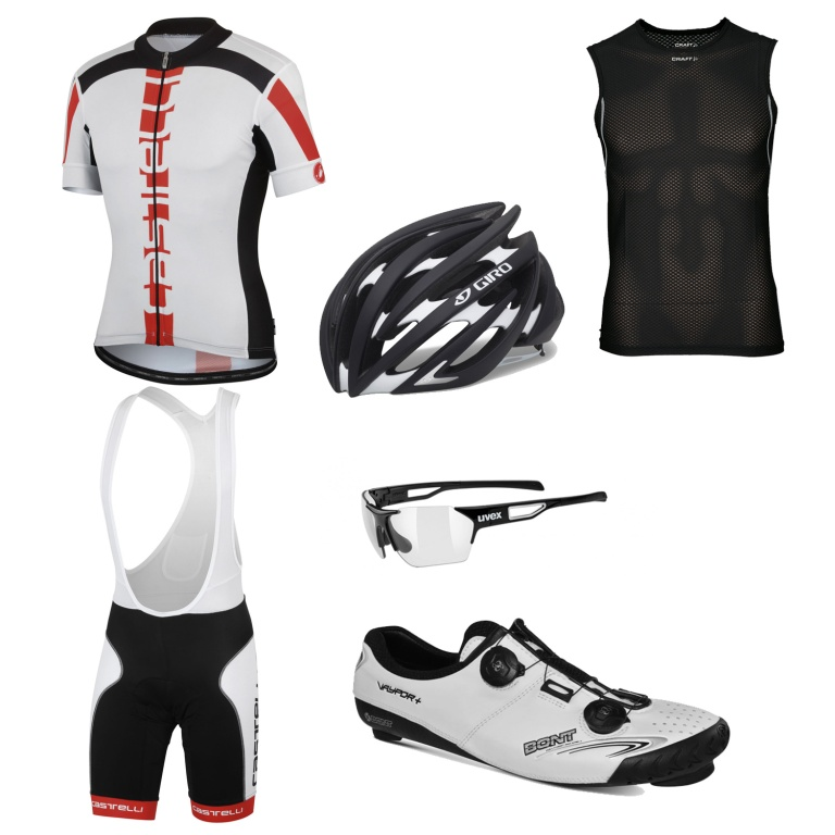 Brian's clothing and equipment choices for the Alpine Loop