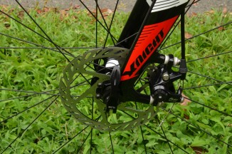 Mechanical disc brakes provide all-conditions stopping power