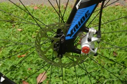 Avid disc brakes provide all-conditions stopping power