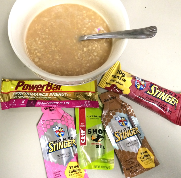 Eating a solid, healthy breakfast, and having plenty of food for the ride will help prevent you bonking
