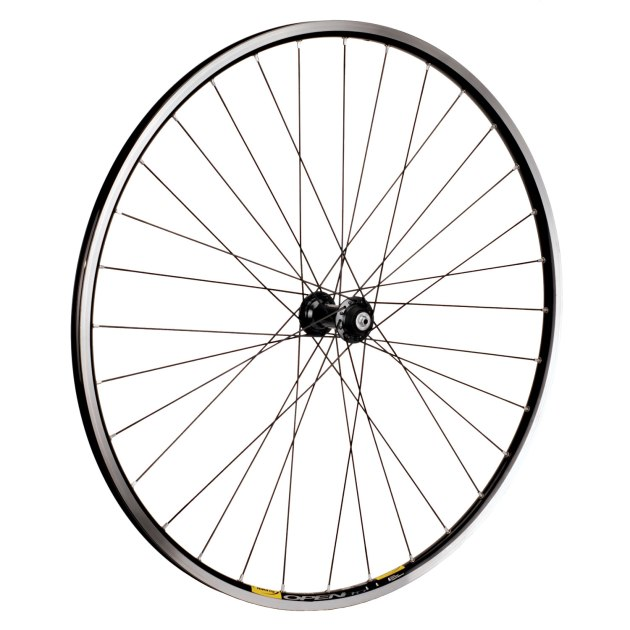 New custom-built wheels, like these Shimano Ultegra hubs to Mavic Open Pro rims, will be arriving throughout 2015